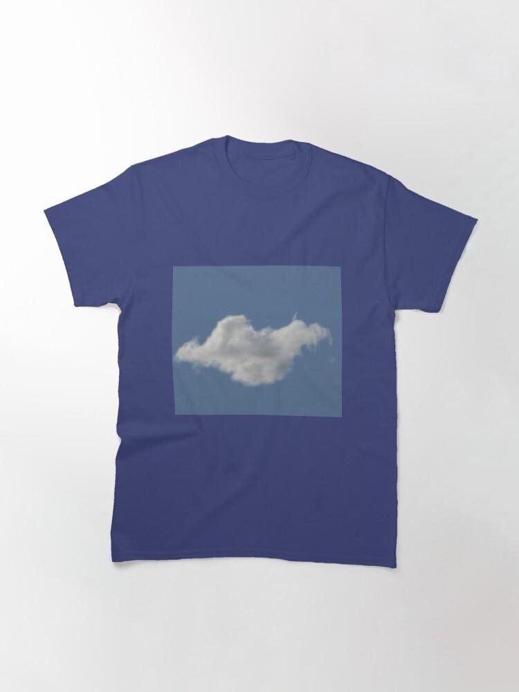 Alternate view of Blue Sky, Single Cloud Pattern Classic T-Shirt