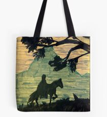 Knight in the night Tote Bag