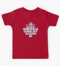 Donald Trump Make America Great 2016 Kids Tee