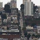 Those Crazy Steep Hills of San Francisco by fototakerTony