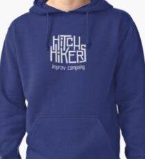 Hitchhikers Improv (Retro White) Pullover Hoodie
