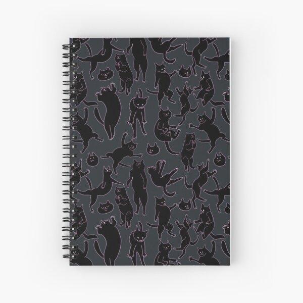 BLACK CATS Spiral Notebook