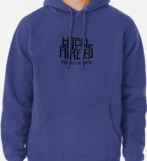Hitchhikers Improv (Retro Black) Pullover Hoodie
