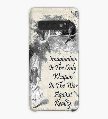Cita de Alicia en el país de las maravillas - Imaginación Funda/vinilo para Samsung Galaxy