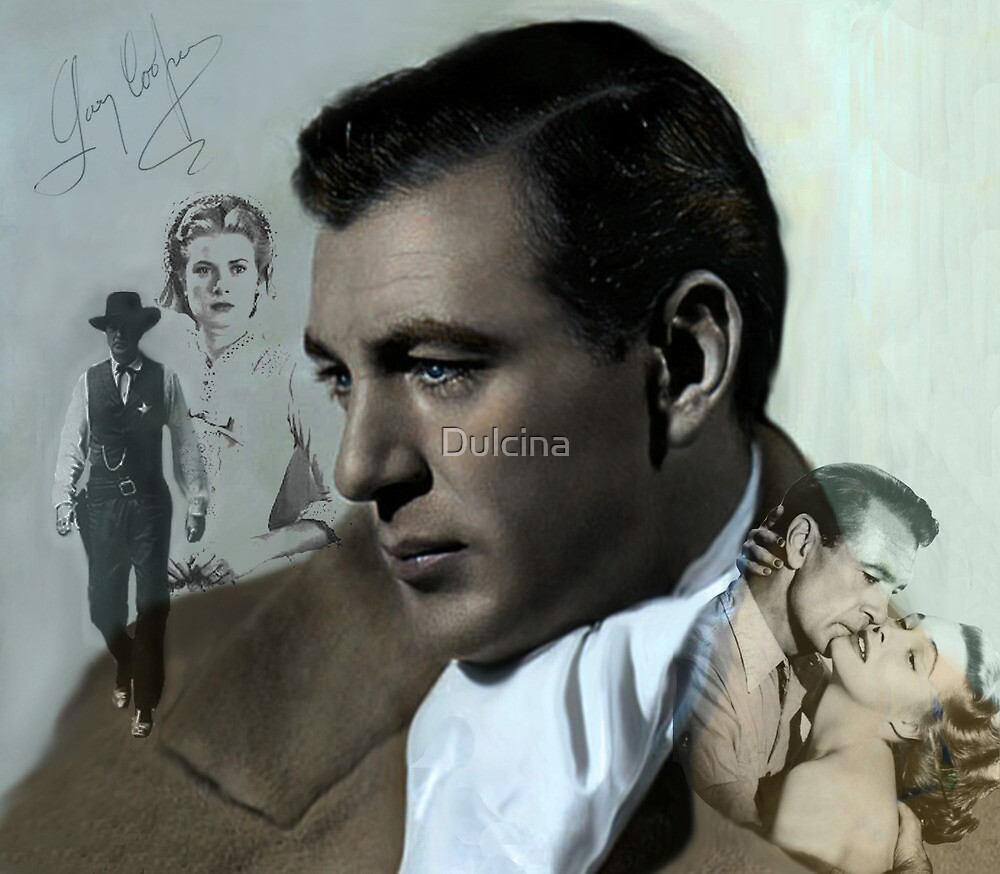 Gary Cooper by Dulcina