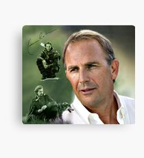 Kevin Costner Canvas Print