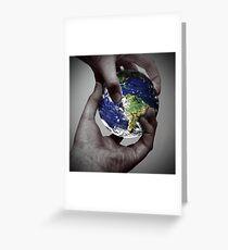 Global Exchanges Greeting Card