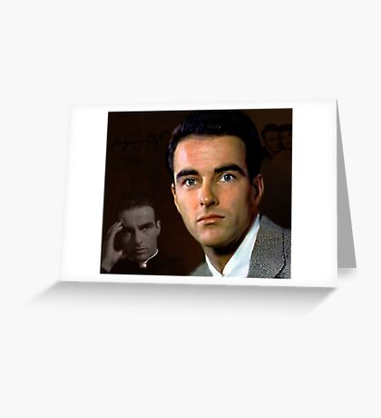 Montgomery Clift Greeting Card