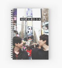 Dan & Phil in NYC Notebook Spiral Notebook