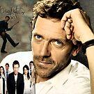 Hugh Laurie by Dulcina
