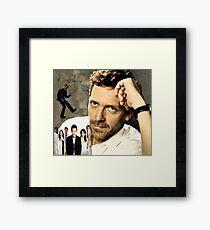 Hugh Laurie Framed Print