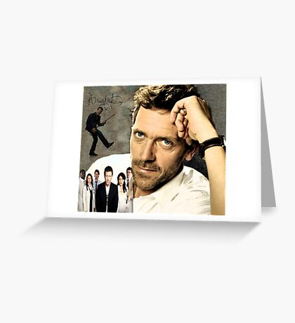 Hugh Laurie Greeting Card