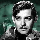 Clark Gable by Dulcina