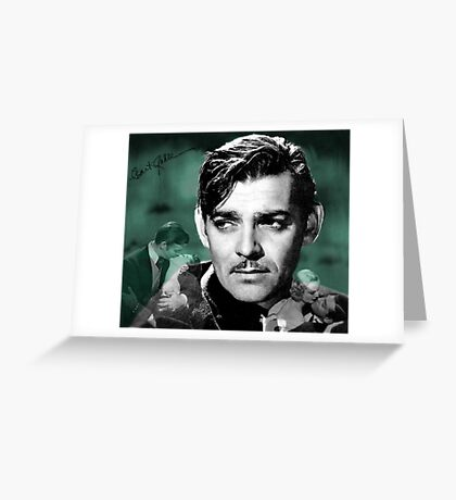 Clark Gable Greeting Card
