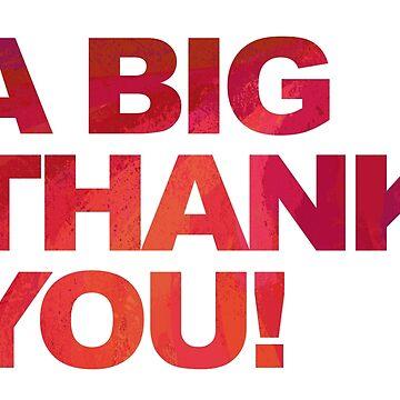 A Big Red Thank You de ImagineThatNYC