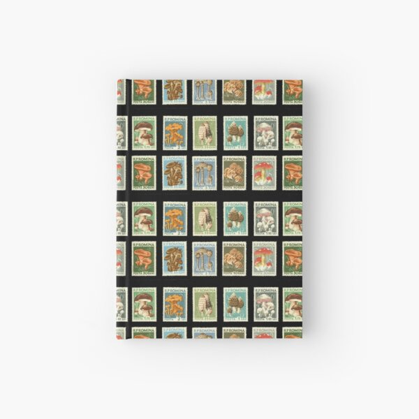 Romanian Stamps Hardcover Journal