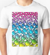 colored drops Unisex T-Shirt