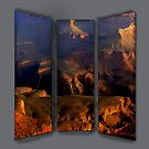 TRIPTYCH OF GRAND CANYON by FSULADY