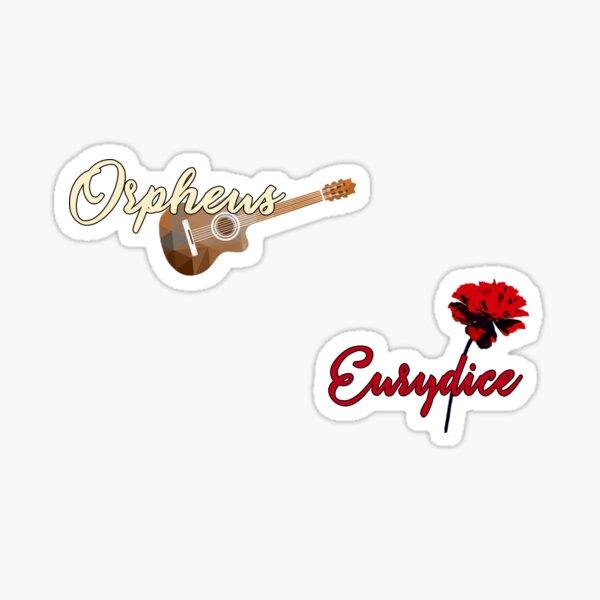 Orpheus & Eurydice Sticker
