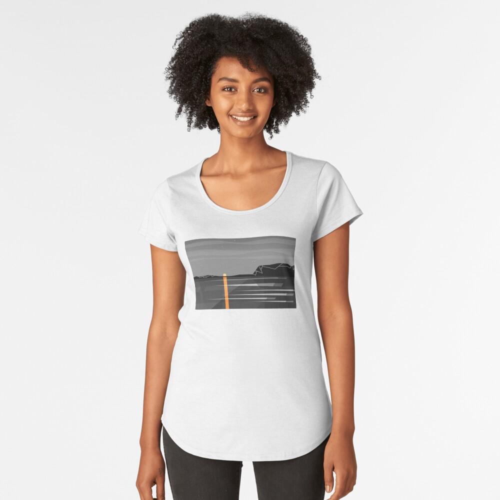 sunset 2 Premium Scoop T-Shirt