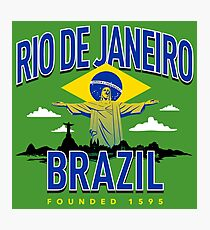 Rio De Janerio, Brazil: Christ Reedemer Photographic Print