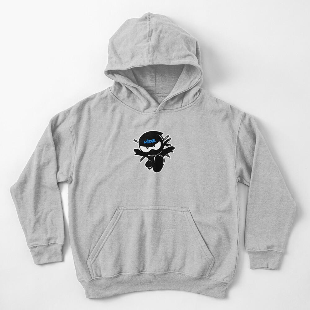 Ninja kidz Tv Logo Kids Pullover Hoodie