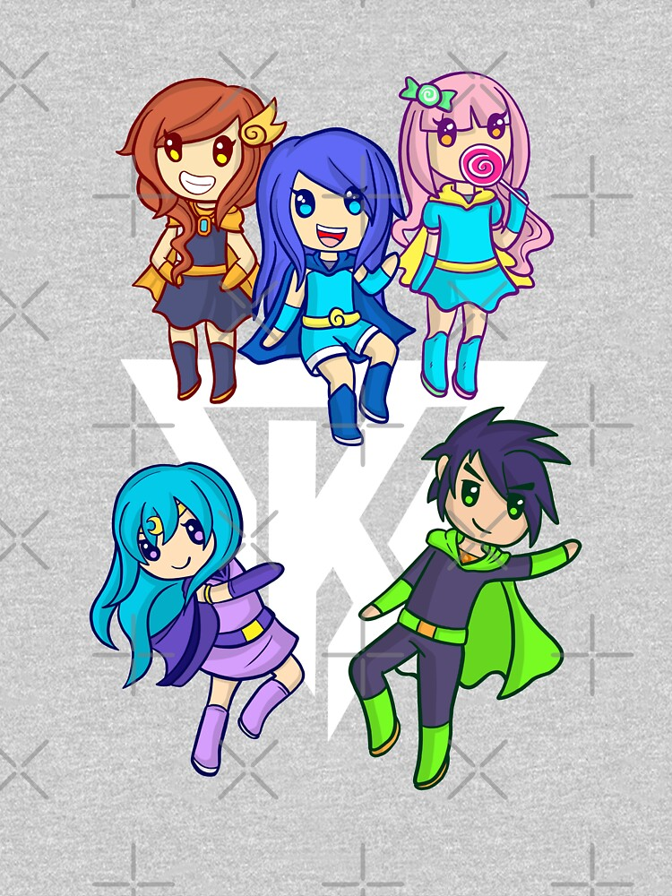 Funneh and the Krew White by TheBeatlesArt