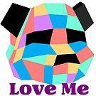 Love me Panda by dadawan