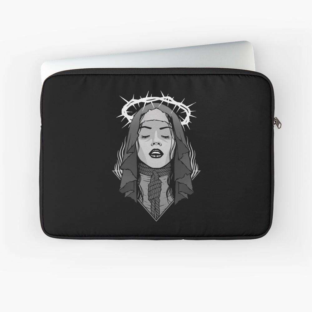 Dark Nun Laptop Sleeve