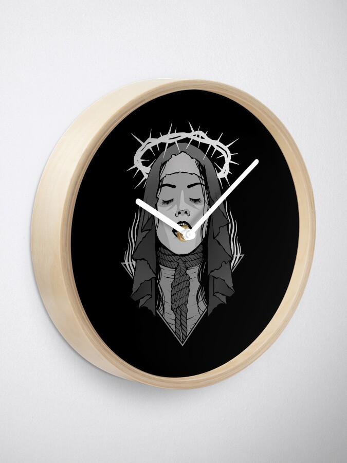 Alternate view of Dark Nun Clock