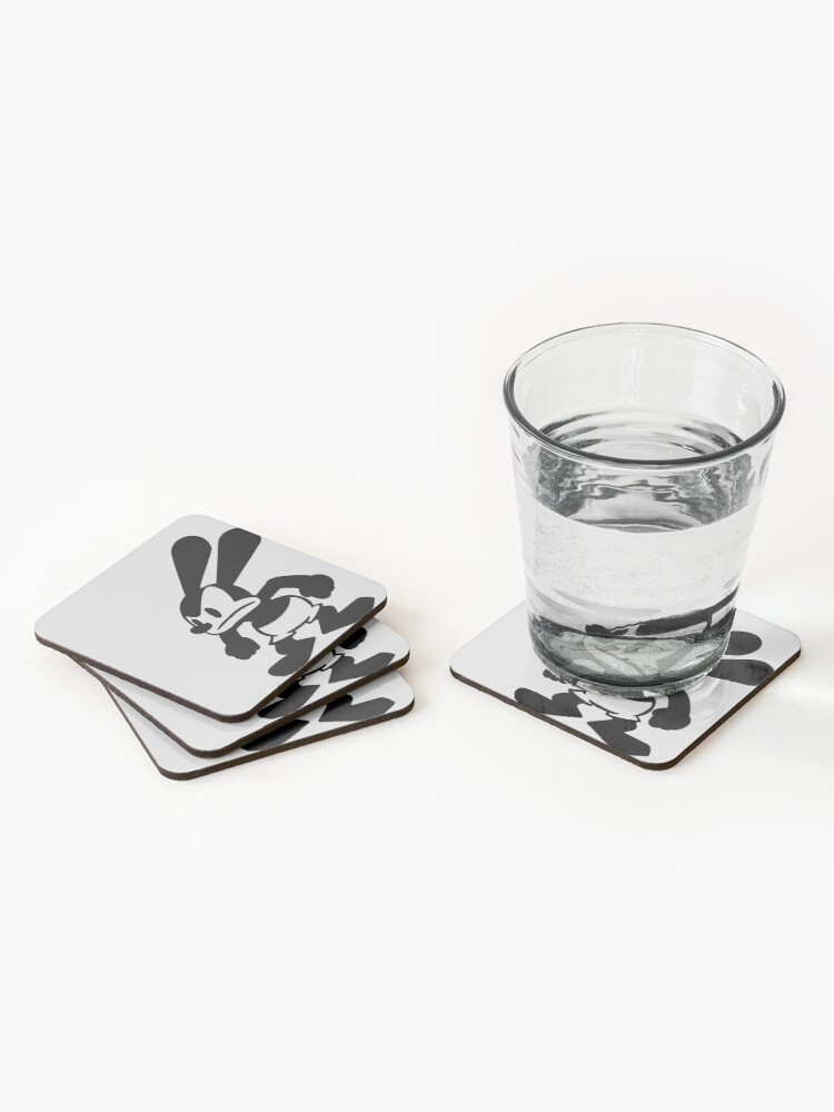 Alternate view of Angry Oswald Coasters (Set of 4)
