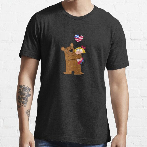 Papa Grizzley  Blonde Girl Essential T-Shirt