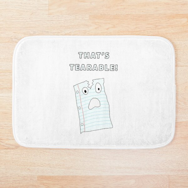 That's Tearable Bath Mat