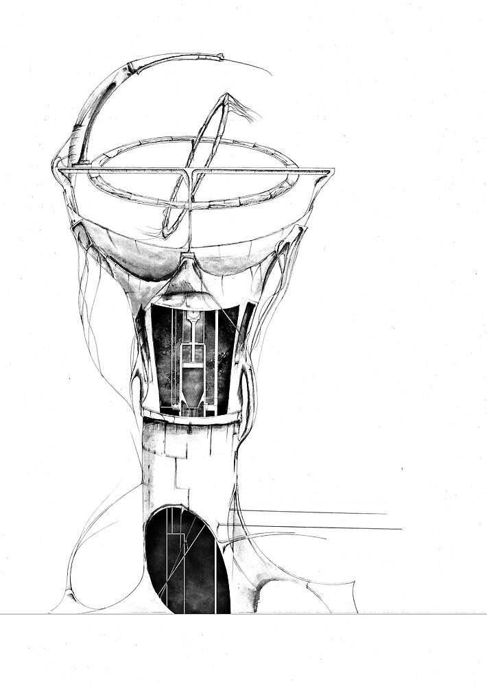 Gyroscope drawing by sbland
