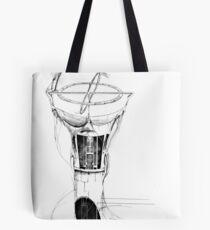 Gyroscope drawing Tote Bag