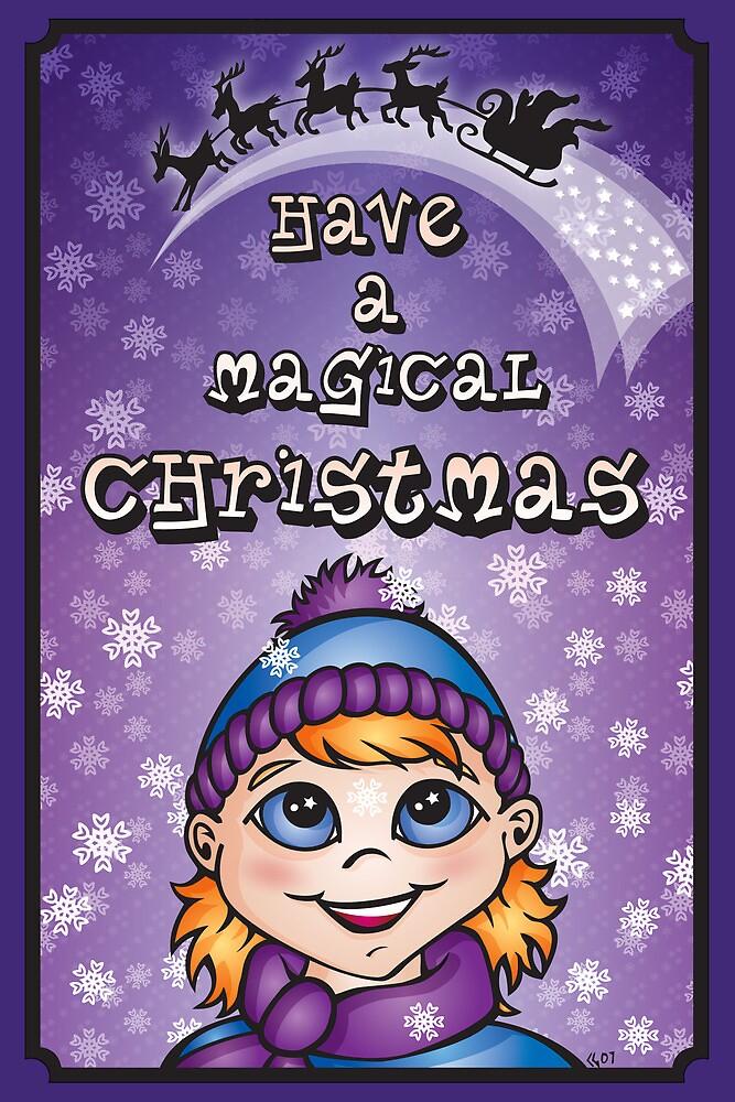 A Magical Christmas - Christmas Cards by CGafford