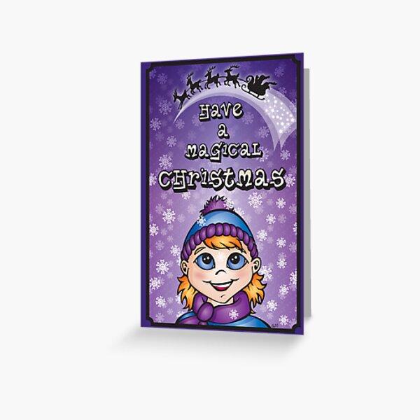 A Magical Christmas - Christmas Cards Greeting Card