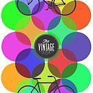 Vintage bicycle colour by dadawan