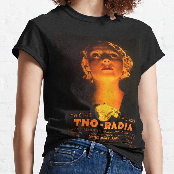 Tho-Radia Radioactive Radium Makeup Cosmetics Classic T-Shirt
