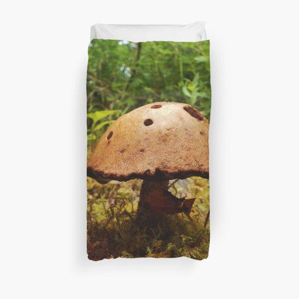 Alaska Mushroom - unidentified type Duvet Cover