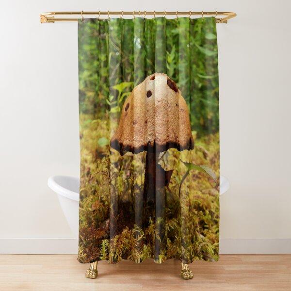 Alaska Mushroom - unidentified type Shower Curtain