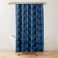 Ugly Bag of Mostly Water Shower Curtain