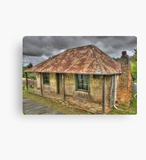 Beyers Cottage - Hill End , NSW Australia - The HDR Experience Canvas Print