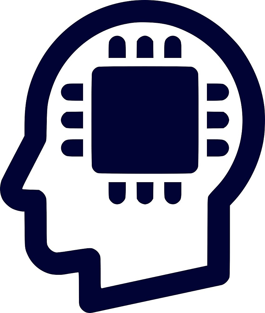 Generation Byte Chip in Head Logo by GenerationByte