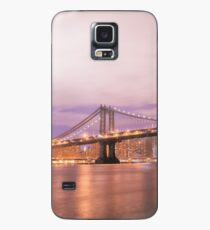 Funda/vinilo para Samsung Galaxy New York City - The Manhattan Bridge