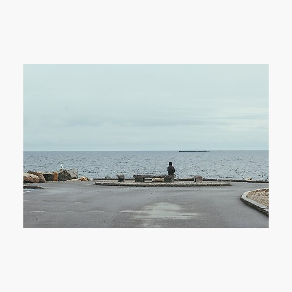 Alone in Rockport Photographic Print