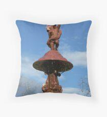 Fountain - Adelaide Botanic Gardens Throw Pillow