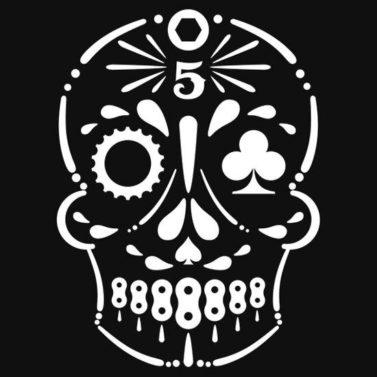 TShirtGifter presents: Team Nic 5 white logo
