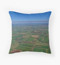 Invergordon Farmlands Throw Pillow
