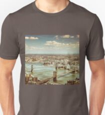 New York City - Skyline from Above  Unisex T-Shirt